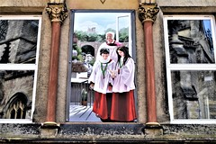 Knaresborough - St John the Baptist Church (Paul Thackray) Tags: yorkshire northyorkshire knaresborough stjohnthebaptist choristers cupcake reflections 2017