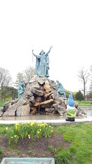 King Memorial; a statue of Moses (Capital District, New York) Tags: albany newyork capitaldistrict tourism gnome monuments washingtonpark
