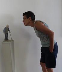 Interaction (Waalgalerie, Tiel) (Elisa1880) Tags: waalgalerie tiel nederland netherlands galerie betuwe gallery art kunst sculptuur sculpture willem den ouden