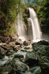 Der unterste Wasserfall des Palvico (Pe Wi) Tags: wasserfall langzeitbelichtung hartblei ndfilter italy trentino storo outdoor unglaublichewassermassen natur