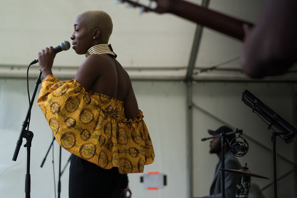 NC GREY IS A SOUL SINGER SONGWRITER [SHE PERFORMED AGAIN AT AFRICA DAY IN DUBLIN]-128601