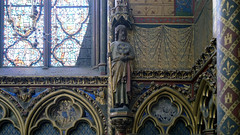 Sainte-Chapelle, apostle statuary