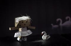 The Robo Ballet Company. (Matt_Briston) Tags: danbo robot ballet tutu biggirl