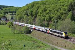CFL 3005 IC 114 - Drauffelt, 25-05-2017 (dloc567) Tags: luxemburg luxembourg lëtzebuerg cfl draufelt drauffelt alstom serie 3000 nmbs sncb i10
