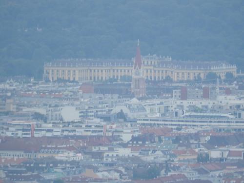 Schönbrunn (from Habsburgwarte)