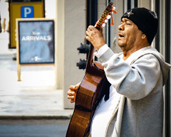 Sing Your Hearth Out (Rvs1966) Tags: explored street guitars singing sanfrancisco california panasonic priime lightroom outdoor explore streetphotography people