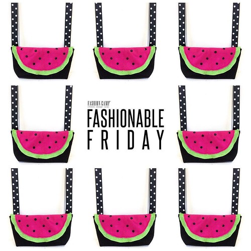Join us this Friday, May 26 to sew up the ultimate summer accessory - WATERMELON PURSES! 🍉🍉🍉 New projects every week - Ages 7 & Up - 3:30 to 5:30pm - Season & Super Passes Available