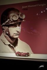 Juan Manuel Fangio (Maphia78) Tags: juanmanuelfangio fangio record poleposition ferraristore canoneos7d canon museoferrari maranello