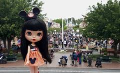 Minnie at Disneyland