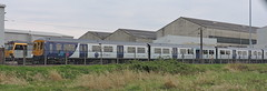 Brush, Loughborough (mike_j's photos) Tags: class319 northern rail emu brush loughborough 319456 class92 92020