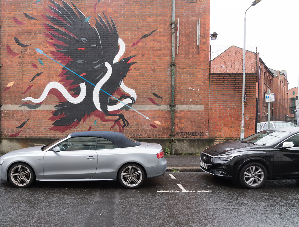 STREET ART AND GRAFFITI IN BELFAST [ANYTHING BUT THE FAMOUS MURALS]-129126