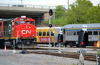 Fathers of Confederation Special CN Train