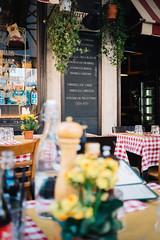 Rome (borishots) Tags: rome italy italia restaurant food bokeh bokehlicious bokehwhore fuji fujinon fujifilm fujifilmxe1 fujinon27mmf28