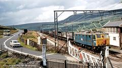 c.1970 - Torside, Crowden, Derbyshire. (53A Models) Tags: britishrail em1 class76 26057 bobo electric torside crowden derbyshire train railway locomotive railroad