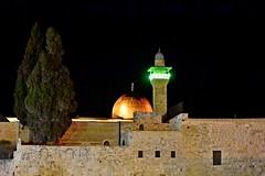 Jerusalem_unootttredue (nograz) Tags: notturno gerusalemme moschea minareto antichemura d7200 nograz jerusalem