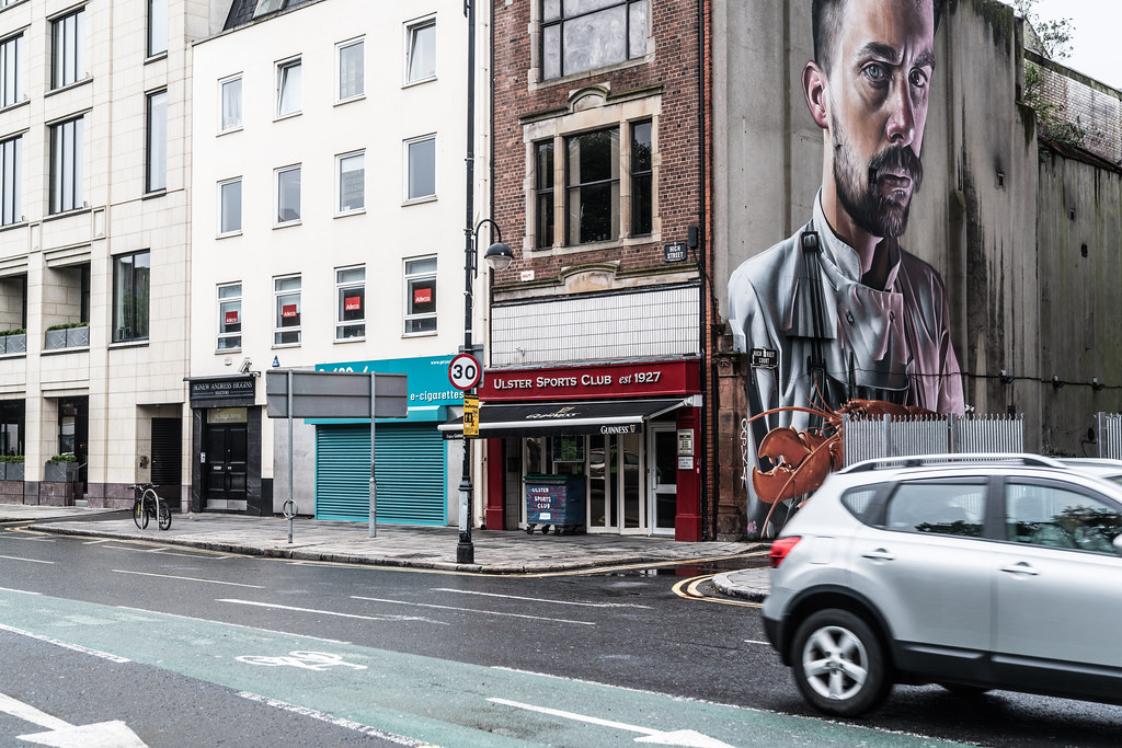 STREET ART AND GRAFFITI IN BELFAST [ANYTHING BUT THE FAMOUS MURALS]-129157