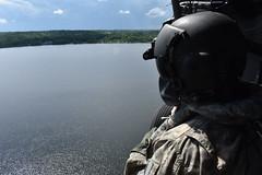 New York Army National Guard aviators conduct fire bucket training