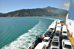 Vehicles on board of ferry (Lim SK) Tags: artere interislander ferry