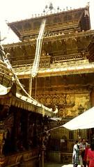 GOLDEN TEMPLE PATAN DURBAR SQUARE  UNESCO WORLD HERITAGE SITE    TOUR BY:  NEPAL TRAVEL AND TOUR PVT. LTD. KATHMANDU, NEPAL. T: +977-14249214 E: holiday@nepaltravelandtour.com   #nepaltravelandtour #goldentemple #patan (cniraula) Tags: patan nepaltravelandtour goldentemple