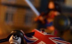 """The War To End All Wars..."" (Andrew Cookston) Tags: lego dc comics brickarms german nazi unionjack flag capemadness europe wwi moc photoshop stilllife toy nikon macro photography andrewcookston"