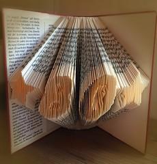 My special present (Tanja-Milfoil) Tags: books paper folding paperart geschenk present oldbooks altebücher buch kreatives milfoil tanja buchfaltung handicrafts basteln tinker falten bücher bookfolding