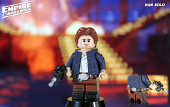 Custom LEGO Star Wars: The Empire Strikes Back | Han Solo (LegoMatic9) Tags: custom lego star wars the empire strikes back han solo hoth bespin