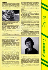 Norwich City vs Luton Town - 1991 - Page 11 (The Sky Strikers) Tags: norwich city luton town barclays league division one carrow road official matchday programme pound twenty