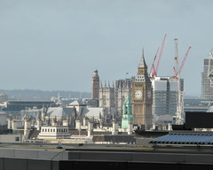 Westminster Cathedral, Westminster Abbey, and Big Ben (jane_sanders) Tags: london westminstercathedral cathedral campanile belltower westminsterabbey abbey bigben elizabethtower clocktower palaceofwestminster tatemodern extension switchhouse blavatnikbuilding