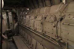 IMG_0731 Burlington Pioneer Zephyr train - diesel engine (kurtsj00) Tags: chicagomuseumofscienceandindustry chicago museum science industry burlington pioneer zephyr train stainless
