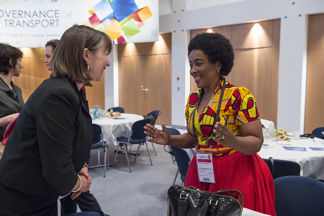 Sindisiwe Lydia Chikunga networking