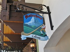 Leavenworth, Washington (Jasperdo) Tags: leavenworth washington roadtrip smalltown touristtown bavarianvillage sign matterhorncellars