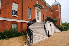 Rear stairs to the gardens (zawtowers) Tags: osterley park house national trust isleworth west london georgian era architecture built 1761 robert adam monday 29th may 2017 cloudy visit day out stairs descend down gardens curve