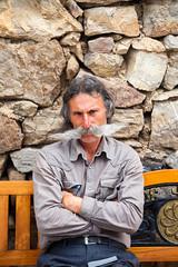 Moustache Man - Khor Virap (Tom Peddle) Tags: lusarat araratprovince armenia am moustache man portrait khor virap խոր վիրապ khorvirap