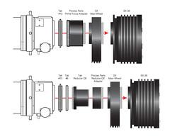 Visualization Aid: FSQ-106ED + Starlight Xpress CCD Camera (David Illig) Tags: starlightxpress takahashifsq106 adobeillustrator imac astrophotography