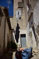 Alex Senna per lo street art di  Civitacampomarano 2017 (maresaDOs) Tags: civitacampomarano molise it italia street art murales giugno 2017 alexsenna streetart cvta graffiti borgo borghiditalia cb mural