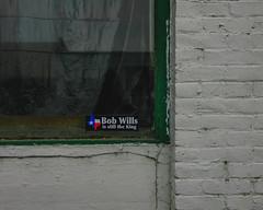 Texas In The Palouse (Pedalhead'71) Tags: oakesdale washington unitedstates us abandoned storefront palouse sticker bob wills