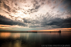 Early Morning Start at Blyth (sidrog28) Tags: sea sand pier lighthouse long exposure clouds early morning blyth uk north east northumberland