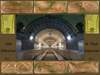 Alter Elbtunnel-Old Elbe Tunnel