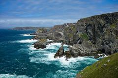 Mizen Head, Co Cork  [Explored] (Eskling) Tags: mizen head headland cocork irelandseaskycliffs waves rough landscape