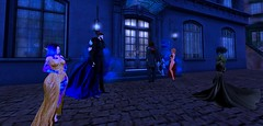 Guests in the Dark night (Hollow's End) Tags: second life sl hollows end he rp roleplay role play virtual world social night club hotel urban horror event nocturne alcohol drinking champagne aristocrats noble investigators dark sapphire delight roses