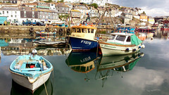 MEVAGISSEY (tommypatto : ~ IMAGINE.) Tags: mevagissey cornwall boats fishingvillages fishingboats fishing