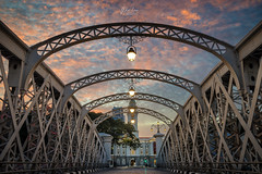 _DSC00871_1-wm (patlawhl) Tags: vehicular bridge singaporeriver sunset landscape andersonbridge