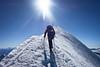 Summit of the Mont Blanc (jean-baptiste.decaudin) Tags: mont blanc chamonix mountaineering alpinisme mountain snow ice neige glace