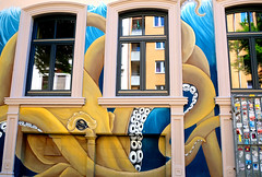 Germany, Hamburg (ClaDae) Tags: hamburg germany deutschland europe travel city travelphotography building old street streetart art colors animal fujifilm tx20