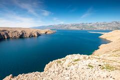 Ile de Pag (archipel des Kornati) (G Dubuc) Tags: croatie mer barques églises ruines
