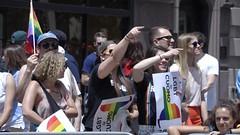 NYC Pride March 2017, part 4 (Brooklyn Cyclist) Tags: nycpridemarch2017 gaylesbians brooklyn cyclist greenvichwillage washingtonpark manhattan video