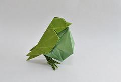 Little Bird - Hideo Komatsu (halogenandtoast) Tags: origami hideokomatsu