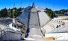 Holmenkollbakken Ski Jump amphitheater at Holmenkollen Oslo Norway