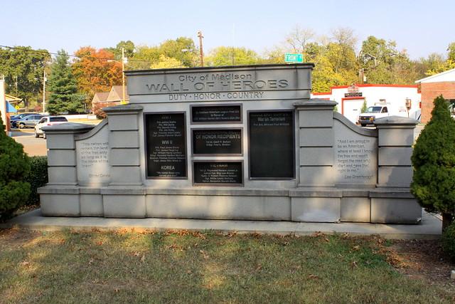 Madison, AL Wall of Heroes