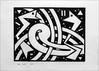 A linocut from last year, (Dave Whatt) Tags: linoprint linoprinting lino blackandwhite fineartprints artwork abstractart surrealism vorticism a4japanesepaper
